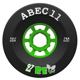 Black ABEC11 Superflys 97mm 74a Electric Skateboard Wheel